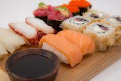 De sushi van Japan stock afbeelding