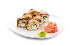 De sushi van Maki Royalty-vrije Stock Fotografie