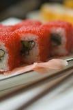 De sushi van Maki stock foto's