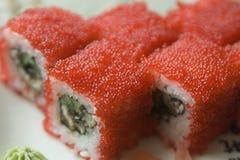 De sushi van Maki stock afbeelding