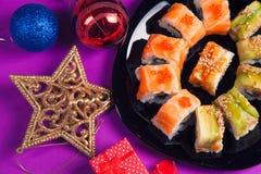 De sushi van Maki Royalty-vrije Stock Afbeeldingen