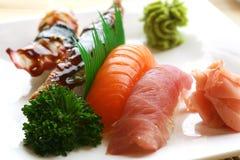 De Sushi van Nigiri royalty-vrije stock foto