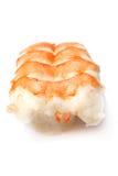 De sushi van Nigiri van garnalen Stock Foto