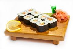 De Sushi van Philadelphia Maki - Broodje Stock Fotografie