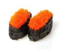 De sushi van Tobiko Royalty-vrije Stock Foto's