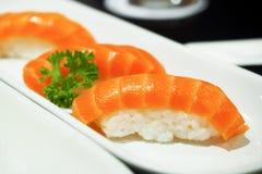 De sushi van de zalm Stock Foto's