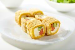 De sushibroodje van Maki Stock Afbeelding