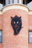 De svarta katterna arkivbild