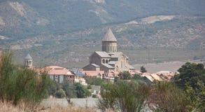 De Svetitskhoveli-Kathedraal, Georgië Royalty-vrije Stock Afbeelding
