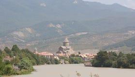 De Svetitskhoveli-Kathedraal, Georgië Royalty-vrije Stock Afbeeldingen