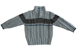 De sweater van de winter stock foto