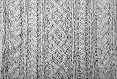 de sweater van het stoffendetail Royalty-vrije Stock Afbeelding