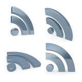 De Symbolen van Blog Stock Foto's