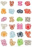 De symbolen van de dierenriem Vector Illustratie
