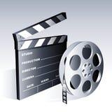 De symbolen van de film. Stock Foto's