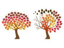 De symbolen van de herfst Stock Foto's