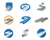 De symbolen van de weg Royalty-vrije Stock Foto