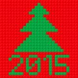 De symbolen van het nieuwjaar Stock Afbeeldingen