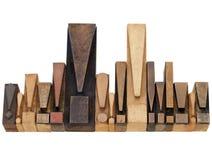 De symbolen van het uitroepteken Stock Afbeelding