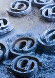 De symbolen van Internet Stock Foto