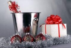 De symbolen van Kerstmis Stock Fotografie