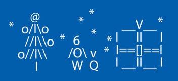De symbolen van Kerstmis Stock Foto's
