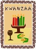 De symbolen van Kwanzaa royalty-vrije illustratie
