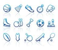 De symbolen van sporten Stock Fotografie