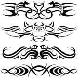 De Symbolen van Tatoo Royalty-vrije Stock Fotografie