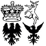 De Symbolen van Wappen Royalty-vrije Stock Afbeelding