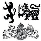 De Symbolen van Wappen Stock Foto's