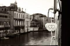 De Symboliek van Venetië Stock Foto