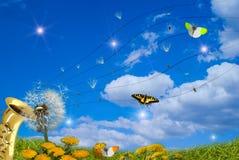 De symfonie van de lente Stock Afbeeldingen