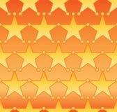 De symmetrie naadloos patroon van de stercirkel royalty-vrije illustratie