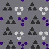 De symmetrie naadloos patroon van holtekens royalty-vrije illustratie