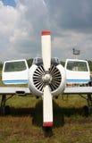 De symmetrie van het vliegtuig Stock Foto's