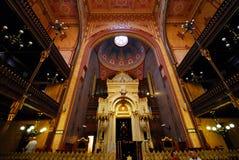 De Synagoge van Boedapest Royalty-vrije Stock Foto