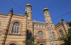 De Synagoge van de Dohanystraat in Boedapest Royalty-vrije Stock Afbeelding