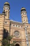 De Synagoge van de Dohanystraat in Boedapest Stock Foto