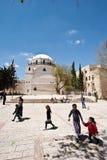 De Synagoge van Hurva, Jeruzalem Stock Afbeelding