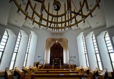 De synagoge van Nechalim in Israël stock afbeeldingen
