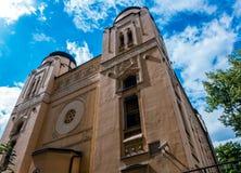De Synagoge van Sarajevo Stock Fotografie
