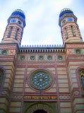 De synagoge van utca Dohany - Boedapest stock foto's