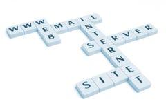 De synoniemen van Internet Stock Afbeeldingen