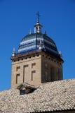 De szpitalny wierza Santiago, Ubeda, Hiszpania. zdjęcia stock