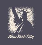 De t-shirt en de kledings vectorontwerp van New York, druk, typografie Royalty-vrije Stock Foto