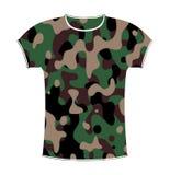 De T-shirt van de camouflage Royalty-vrije Stock Foto