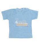 De T-shirt van de jongen stock foto's