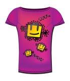 De t-shirt van de vrouw Royalty-vrije Stock Afbeeldingen