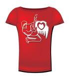 De t-shirt van de vrouw Royalty-vrije Stock Foto's